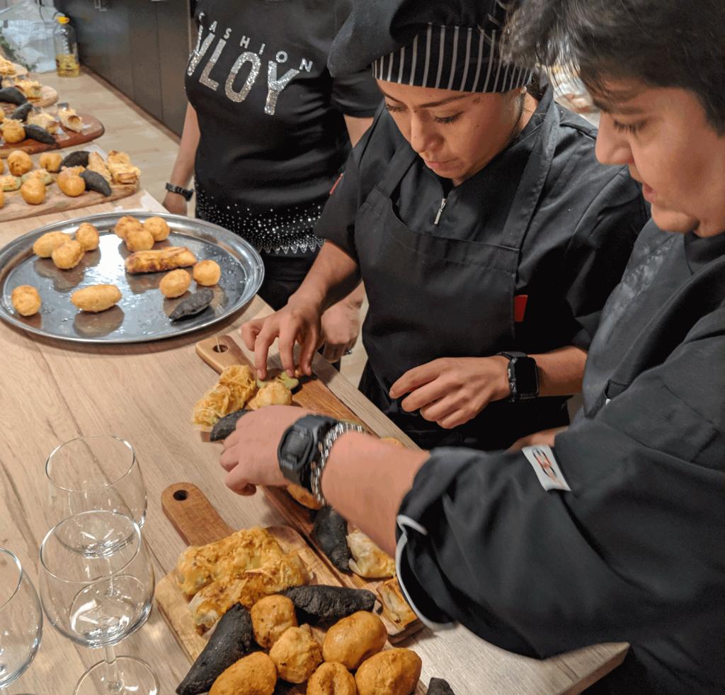 Segundo evento gastronómico de Emaitza